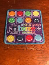 2007 World Scout Jamboree 21st Mondial Smiley Face Patch ABE-159H