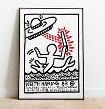 Keith Haring Print, Keith Haring Tokyo Art Print, Japan Exhibition Poster