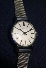 Vintage LONGINES Ladies S/Steel Good Working Order Great Condition Almost NOS!