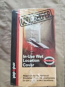 Thomas & Betts CODE KEEPER Metal Wet Weatherproof Cover for Single Outlet CKLSVL