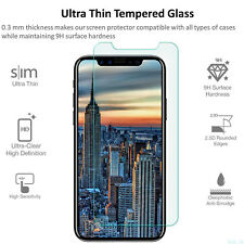 Tempered Glass Screen Protector Clear HD Film For Apple iPhone X / iPhone 10