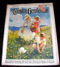VTG MAGAZINE, Country Gentleman JUNE 1929 - Great Full-Color Ads, Cars, Tires