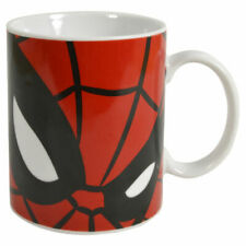 Spider-man Mug. Ultimate Spiderman Marvel Comic Close up Face Gift for Him Home