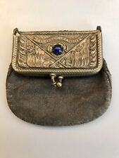 The Pearl Of Antilles Small Leather Coin Purse Circa 1898 Spanish American War
