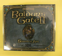 Baldur's Gate II: Shadows of Amn PC Game ~ Jewel Case Version (Bioware, 2000)