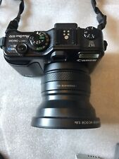 Canon PowerShot G10 14.7 MP Digital Camera Black with battery charger & memory