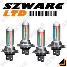 h7 xénon SUPER BLANC 55W ampoules Trempé faisceau 12V PHARE FEU x 4 double