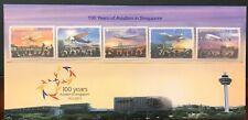 SINGAPORE 100° YEARS OF AVIATION (2011) PRESENTATION PACK AIRPLANES A380 AEREI