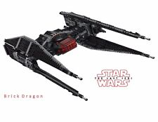 LEGO STAR WARS-kylo REN'S TIE FIGHTER * new, no minifigures * DAL SET 75179