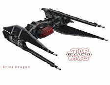 Lego Star Wars - Kylo Ren's TIE Fighter *NO BOX / MINIFIGURES* from set 75179