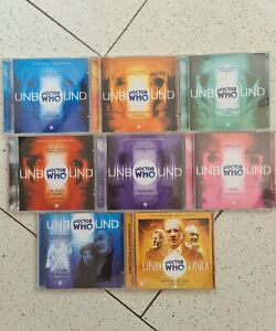 Doctor Who Unbound Big Finish Audiobook The Complete Collection 1-8 Audio Drama