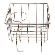 BEETLE CABRIO Tunnel Storage Basket, Chrome, All Aircooled with a Tunnel