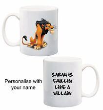 Disney Lion King Scar Villan  Personalised Customised name mug cup kids (4)