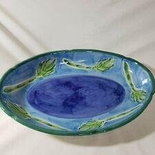 Williams-Sonoma Large Oval Vegetable Serving Platter Dish Baking Italy Ceramic