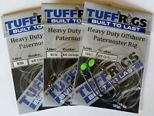 TUFF RIGS - HEAVY DUTY SNAPPER FISHING RIG WITH GAMAKATSU HOOKS