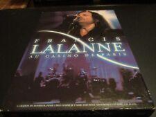 """DVD """"FRANCIS LALANNE AU CASINO DE PARIS"""" concert"""