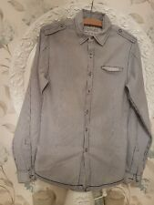 Topman Striped Soft Cotton Shirt XS