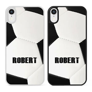 PERSONALISED NAME FOOTBALL Phone Case Cover for iPhone Samsung Galaxy Boys Gift