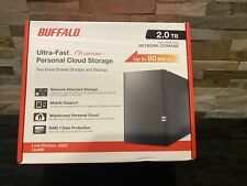 Buffalo LinkStation 420 2TB 2-Drive NAS Comes w/ 2TB drives MAC or PC LS420D0202