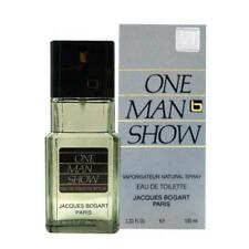 One Man Show Cologne by Jacques Bogart 3.4 oz EDT Spray for Men NEW IN BOX