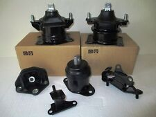 2006-2007 -- SET OF 6 ENGINE & TRANSMISSION MOUNTS FOR HONDA ACCORD (3.0L, A/T).
