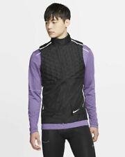 Nike 2019 Aeroloft Down Running Vest - Men's Medium - $180.00 ~ Bv4862 010 Black