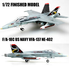 F/A-18C US NAVY VFA-137 NE-402 1/72 aircraft finished plane Easy model