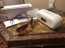 Chloe Sunglasses TAUPE METAL ACCENT FRAME WITH WHITE CASE & CLOTH New WITH Box