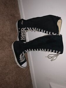 knee high converse products for sale | eBay