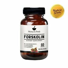Mortar and Pestle Highest Grade Forskolin for Weight Loss