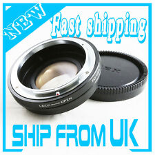 Focal Reducer Speed Booster Adapter Canon FD lens to Sony E Mount NEX 5R NEX-7