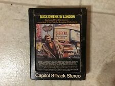 Buck Owens In London 8 Track Tape Stereo With Box Capitol Music Live Buckaroos