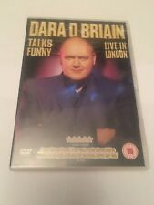 Dara O'Briain - Talks Funny - Live In London (DVD) comedy, stand up, uk dvd