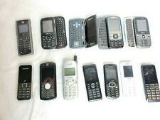 12 X Assorted Cell Phone Lot Untested Samsung Lg Motorola Parts/Repair