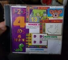 1-2-3  4 Kids-  PC GAME  - FREE POST