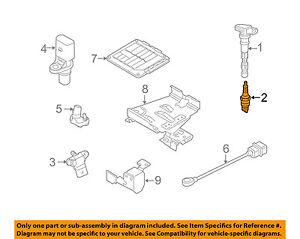 VW VOLKSWAGEN OEM 07-14 Jetta 2.5L-L5 Ignition-Spark Plug 101905601F