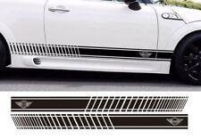 Sticker Decal Stripe Kit for Mini Cooper R50 R56 F55 Door Handle Trim Emblem