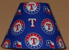 Texas Rangers MLB fabric lamp shade sports Handmade Desk Table NG
