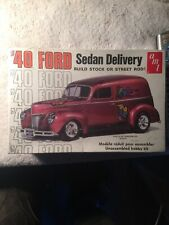 Vintage Amt 40 Ford Sedan Delivery 1:25 Model Factory Sealed Rhtf