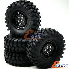 4pcs RC 1/10 108mm 1.9 Tires w/ Hex 12mm Wheels For Rock Crawler Truck Upgrade