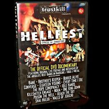 Hellfest The Official Video Documentary 2000 Syracuse NY Hardcore Metal Rock DVD