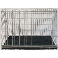 "Pet World SLOPING FRONT DOG CAR CAGE PET CRATE PUPPY HATCHBACK ESTATE 34"""