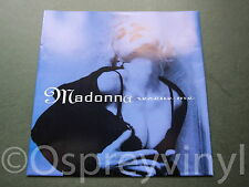 "Madonna Rescue Me Unplayed German Blue Sleeve 7"" single Mint Old New Stock"