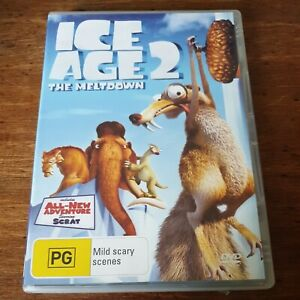Ice Age 2 THE MELTDOWN DVD R4 Like New! FREE POST