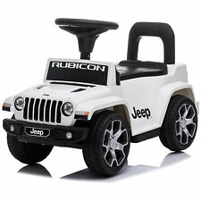 Best Ride On Cars Baby Toddler Jeep Rubicon Push Car Riding Toy Vehicle, White