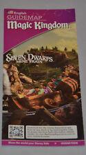 2014 Magic Kingdom Guide Snow White Seven Dwarfs Mine Train Stitchs Great Escape