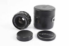 Pentax Super Takumar 35mm f/3.5 Wide Angle Lens With Caps and Case NEAR MINT V80