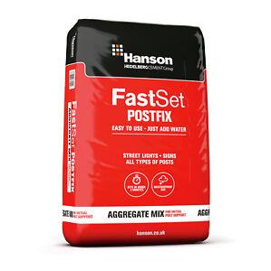 20KG HANSON FAST SET READY TO USE POST FIX MIX FENCING CONCRETE CEMENT MAXI BAG