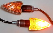 4 X Motorcycle Turn Signals Amber Light For HONDA SHADOW VT 500C 600 750 1100