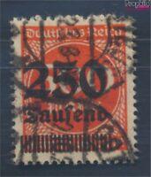 Deutsches Reich 296II geprüft gestempelt 1923 Hochinflation (8112109